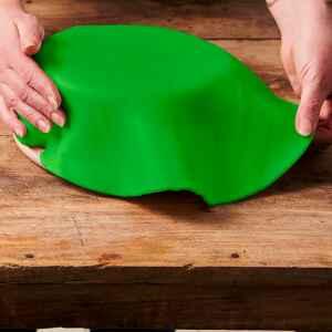 Foglio a Disco Pasta di Zucchero Verde Primavera Senza Glutine 430 g