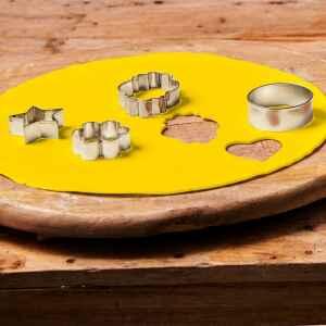 Foglio a Disco Pasta di Zucchero Giallo Senza Glutine 430 g