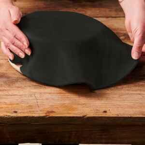 Foglio a Disco Pasta di Zucchero Nero Corvino Senza Glutine 430 g FunCakes