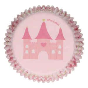 Pirottini - Cupcake Castello Principesse per Cottura 48 Pz FunCakes