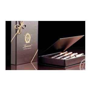 2 Cofanetti Regalo 4 sigari di cioccolato belga Laurence
