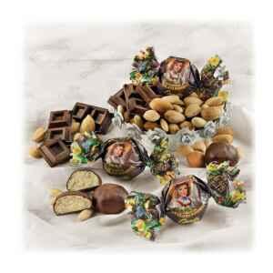 Amaretti tutta Mandorla ricoperti di Cioccolato Fondente Senza Glutine (min. 500 g)