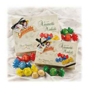 Amaretti Scatola Logo Grande 700g