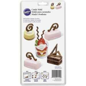 Wilton Stampo in Plastica Accenti per Dessert Candy e Choco