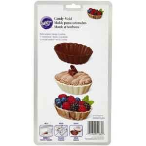 Wilton Stampo in Plastica Dessert Conchiglia Candy e Choco