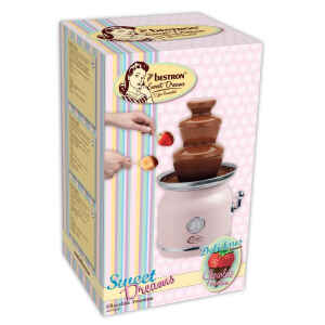 Fontana di cioccolato 90W - Rosa Bestron Sweet Dreams