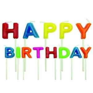 Candeline Happy Birthday 13 Pz PME