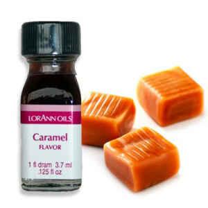 Aroma Concentrato al Caramello Senza Zucchero e Glutine 3,7 ml