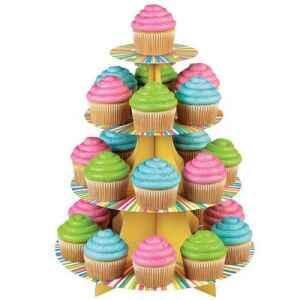 Alzata per Cupcake Ruota Colorata Wilton