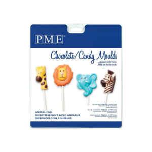 Stampo Caramelle Cioccolatini Animali Divertenti PME