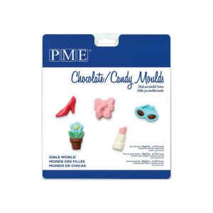 Stampo Caramelle Cioccolatini Mondo delle Ragazze PME