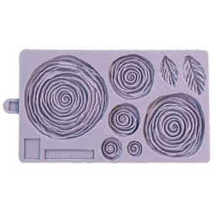Stampo in silicone Rose Arruffate Karen Davies
