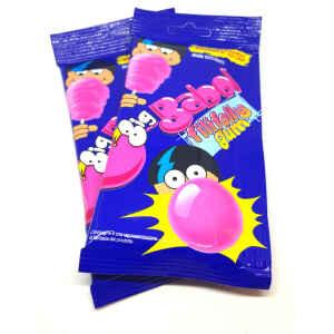 Cotton Candy Bubble Gum Big Babol FiliFolly Gum 6 Pz