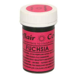 Colore in Pasta Concentrata Fucsia Senza Glutine 25 Grammi Sugarflair