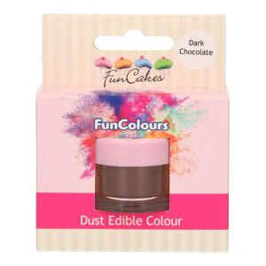 Polvere Edibile FunColours Cioccolato Fondente 1,5 g FanCakes