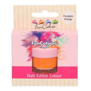 Polvere Edibile FunColours Arancio Zucca 1,5 g FunCakes