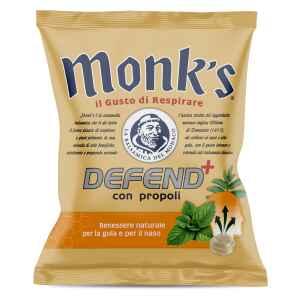 Caramella dura Monk's DEFEND con propoli