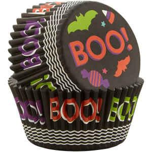 Pirottini - Cupcake Boo in carta forno Ø 5 cm Wilton