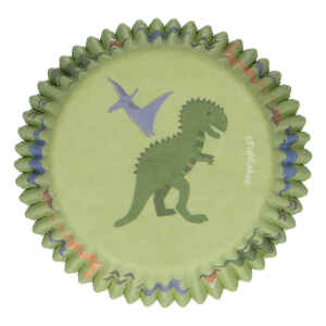 Pirottini - Cupcake Dinosauro per Cottura 48 Pz FunCakes