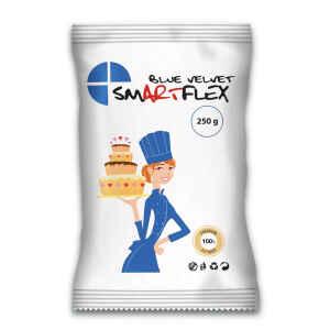 Pasta di zucchero Velvet Blu 250 g SmartFlex