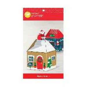 Box per dolci Mini casa 4 Pz Wilton