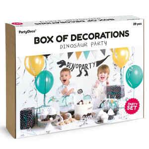 Set decorazioni per feste - Dinosauri 39 Pz PartyDeco