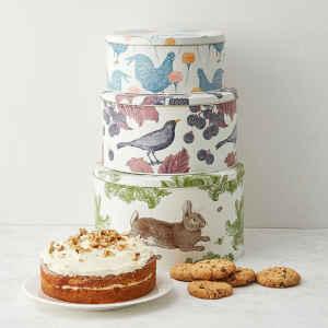 Latta tonda Thornback & Peel - Farm 3 Round Cake Tins
