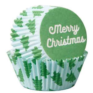 Pirottini - Cupcake Merry Christmas 75 Pz Wilton