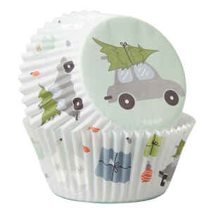 Pirottini - Cupcake Buon Natale 75 Pz Wilton
