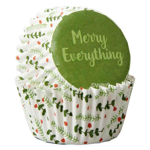 Pirottini - Cupcake Merry Everything 100 Pz Wilton