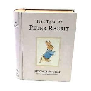 Latta a forma di Libro - Tale of Peter Rabbit