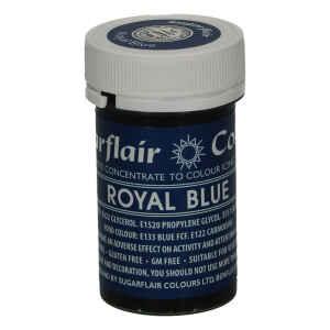 Colore in Pasta Concentrata Royal Blue Senza Glutine 25 g Sugarflair