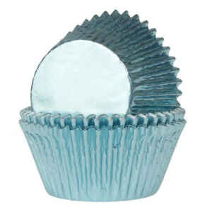 Pirottini - Cupcake Flanella Baby Blue Ø 5 cm 24 Pz House of Marie