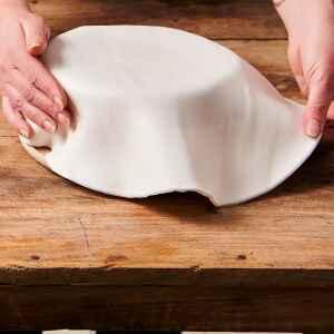 Foglio a Disco Pasta di Zucchero Bianco Brillante Senza Glutine 430 g FunCakes