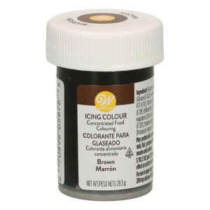 Colorante Gel Concentrato Icing Color Marrone 28 g Wilton
