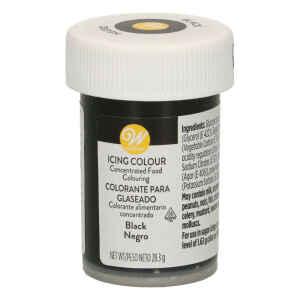 Colorante Gel Concentrato Icing Color Nero 28 g Wilton