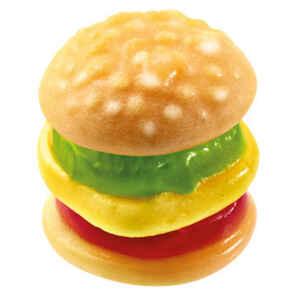Mini Burger gommosi Senza Glutine e Lattosio min. 500 g