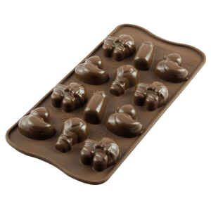 Silicone Chocolate Mold Baby Silikomart