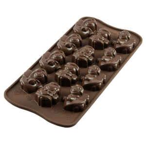 Silicone Chocolate Mould Choco Angels Silikomart