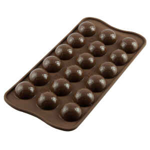 Silicone Chocolate Mould Pallone Goal Silikomart