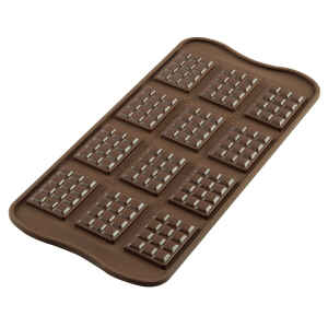 Silicone Chocolate Mould Tablette Cioccolato Silikomart