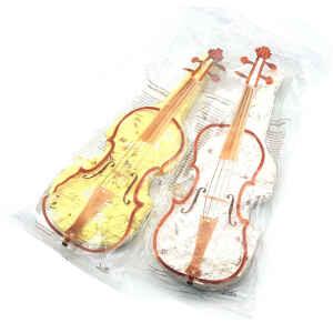 Violini di torrone tenero Deluxe tipo Stradivari 4 Pz Limited Edition