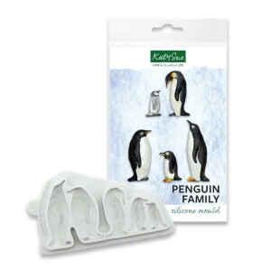 Stampo Silicone Famiglia di Pinguini Katy Sue