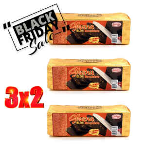 Black Friday del Cremino Storico Ghana Bloc Nocciolato 500 g Gandola 3 x 2
