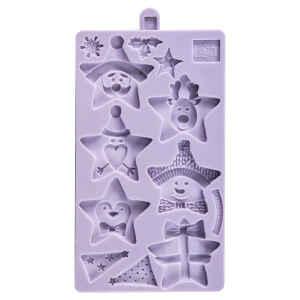 Stampo in silicone Stelle di Natale Karen Davies