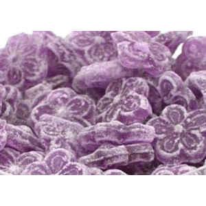 Caramella dura Fiore Violetta senza lattosio, senza glutine e senza zucchero 1Kg