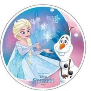 Ostia Wafer Sheet Frozen 3 Disney