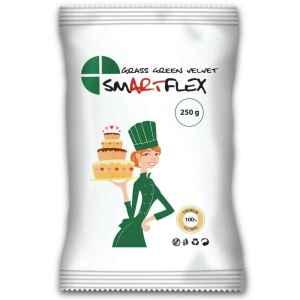 Pasta di zucchero Velvet Grass Green 250 g SmartFlex
