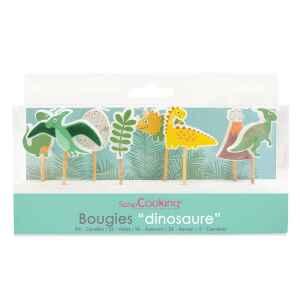 Candele Dinosauro Set 8 Pz ScrapCooking