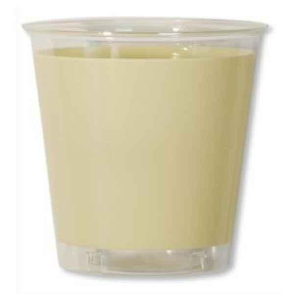 Bicchieri di Plastica Panna 300 cc Extra